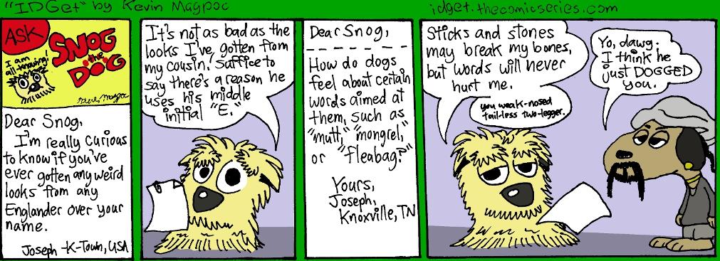 """Snog the Dog in """"Dog-Caller"""""""
