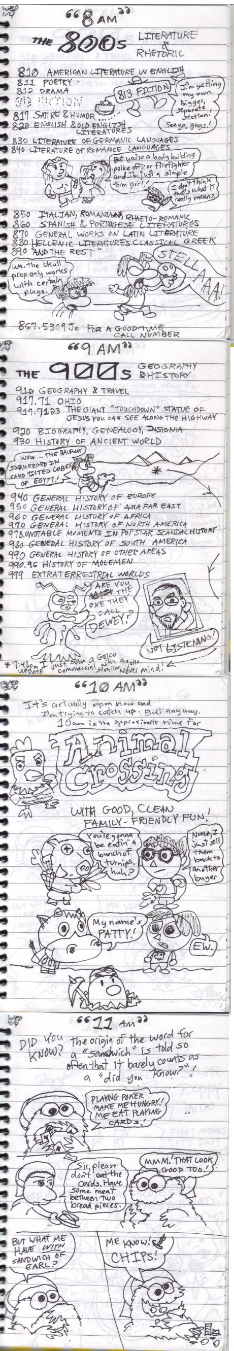 24 Comics Day-Week (2013) 8am-11am