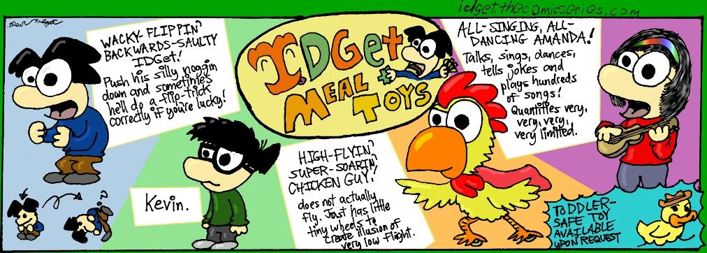 IDGet Meal Toys